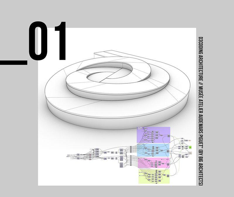 WEBINAR – D3CODING Architecture – Musée Atelier Audemars Piguet – by BIG Architects
